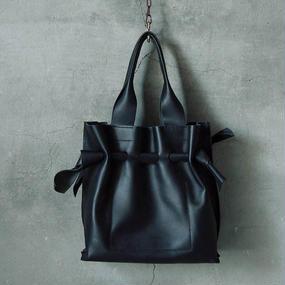 chiihao  square bag black