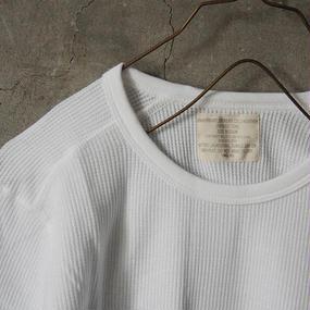 thermal shirt  white