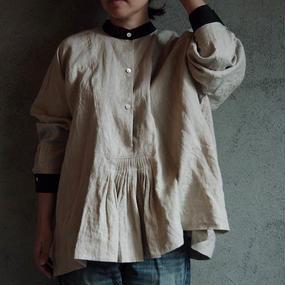 TOWAVASE Jardin linen shirt