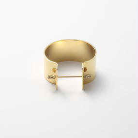 Collar bar bangle (30mm width)