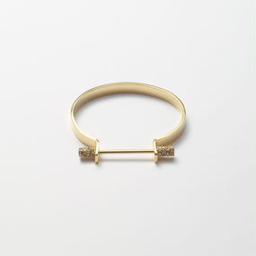 Collar bar  bangle (6mm width)