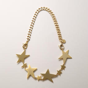 big star necklace (mat gold/shine gold)