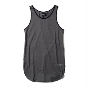 -NAMED- BORDER TANK TOP (BLK)