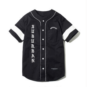 -FLAG- BASEBALL SHIRT (BLK)