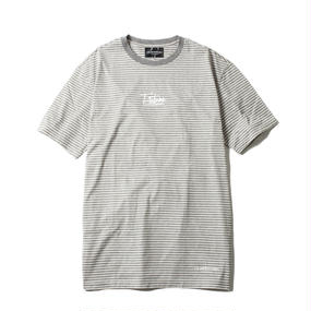 -NAMED- BORDER BIG Tee (GRY)