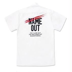 [Nameout] Staff Shirts – White