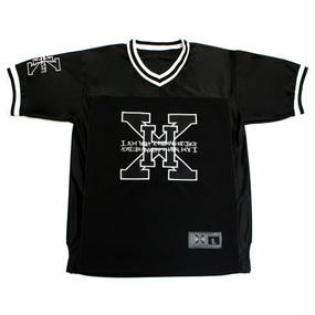 I AM NOT A HUMAN BEING [17SS] XHB Foot Ball Jersey -Black