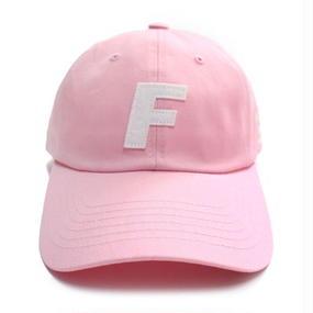 [Fresh anti youth] Fray Logo Ball Cap - Pink