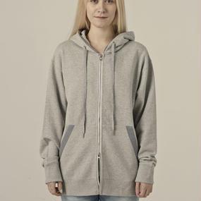 [lobdol]SILERS/ classic zip-up hoodie Grey