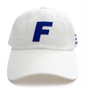 [Fresh anti youth] Fray Logo Ball Cap - White