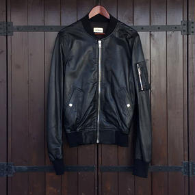 [lobdol]SILERS /LEATHER MA-1 BOMBER JACKET(EXCLUSIVE)