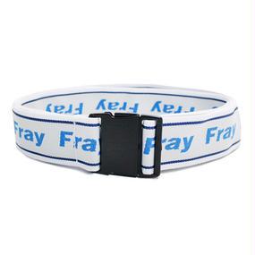 [Fresh anti youth] Logo Strap Belt - Multi
