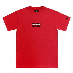 I AM NOT A HUMAN BEING[17SS] IMXHB Logo T-Shirts - Red