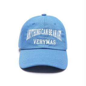 「VERYMAS」LETTERING SKY BLUE BALL-CAP