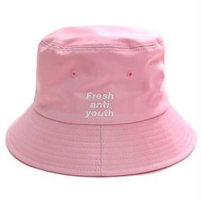 [Fresh anti youth] Bucket Hat – Pink