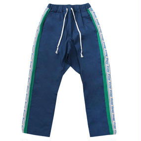 [Fresh anti youth] Combination Pants - Navy