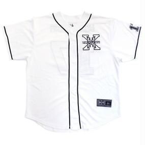 I AM NOT A HUMAN BEING[17SS] XHB Base Ball Jersey - white