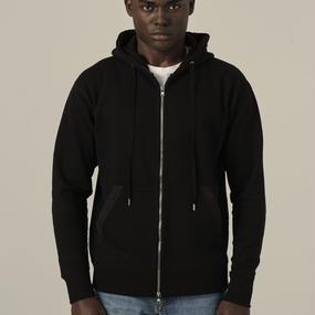 [lobdol]SILERS/ classic zip-up hoodie  Black