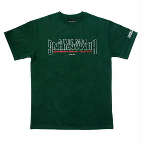 I AM NOT A HUMAN BEING[17SS] [17SS] Arch Ver. Basic Logo T-Shirts - Wood Green