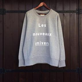 SILERS/ nouveaux crewneck sweatshirt Gray