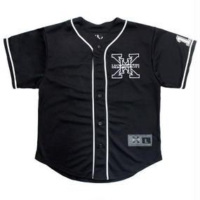 I AM NOT A HUMAN BEING[17SS] XHB Base Ball Jersey - Black