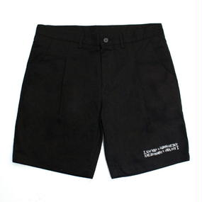 I MA NOT A HUMAN BEING[17SS] Basic Logo Shorts – Black