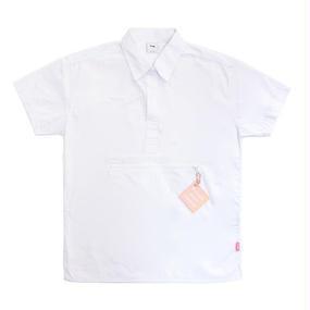 [Fresh anti youth] Zipper Pocket Shirts – White