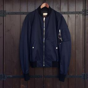[lobdol]SILERS/ MA-1 bomber jacket Navy