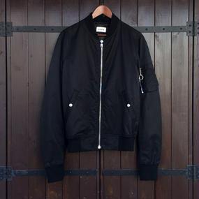 [lobdol]SILERS/ MA-1 bomber jacket Black