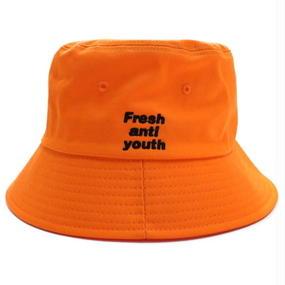 [Fresh anti youth] Bucket Hat – Orange