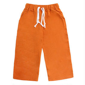 [EASY BUSY] Capri Training Pants – Orange