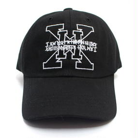 I AM NOT A HUMAN BEING[17SS] XHB Logo Ball Cap – Black