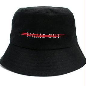 [Nameout] Logo Bucket Hat – Black