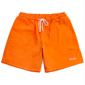[Fresh anti youth] Corduroy Short Pants – Orange