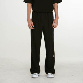 「MGI」BLACK TRACK PANTS