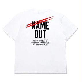 [Nameout] Name Out Staff Tee – White