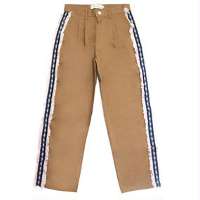[EASY BUSY] Sidedetail Chino Pants – Brown