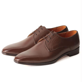 No.1002|McKay Plain Toe Derby|Brown