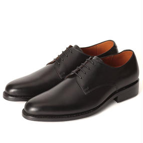 No.317|Plain Toe Derby|Black