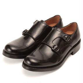 No.622|Double Monk Strap|Black