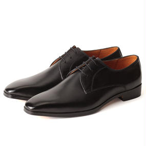 No.1002|McKay Plain Toe Derby|Black