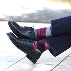 London Shoe Make THE SOCKS| No,416901 数学者/Mathmatician 日本製 メンズソックス・ネイビー