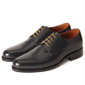 No.317|Plain Toe Derby|Dark Navy