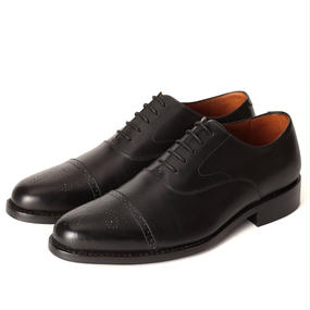 No.321|Semi Brogues Oxford|Black