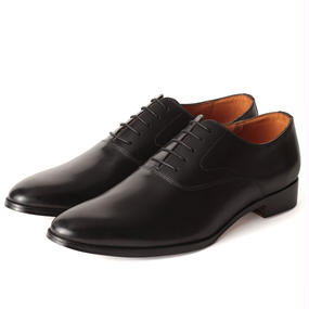 No.3002|McKay Plain Toe Oxford |Black