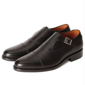 No.320| Single Monk Strap|Black