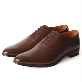 No.3002|McKay Plain Toe Oxford |Brown