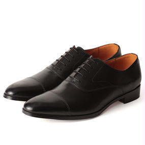 No.3001|McKay Captoe Oxford|Black