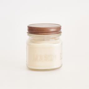live candle -MASON antique lid-
