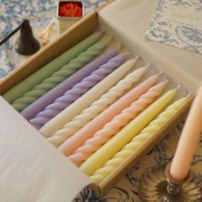 taper candle box -color-